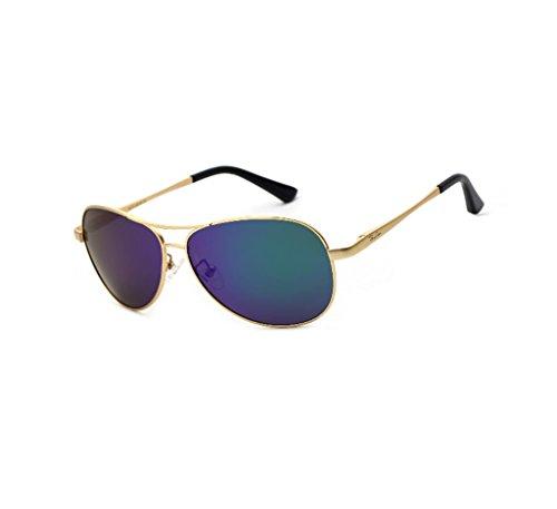 Deporte Ligero Hombres de Marco 6 los 6 conducción Gafas SunglassesMAN polarizadas Ultra Metal Color de de Sol Yxsd de de 1AaqS