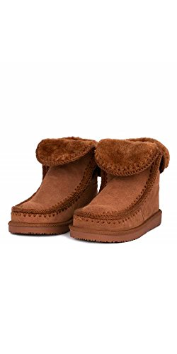 Boots Leather Women's Gioseppo Gioseppo Leather Brown Women's Brown Boots Gioseppo Women's qvqHSO08
