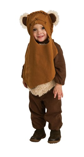 [Star Wars Romper And Headpiece Ewok, Toddler] (Star Wars Dress Up Costumes)