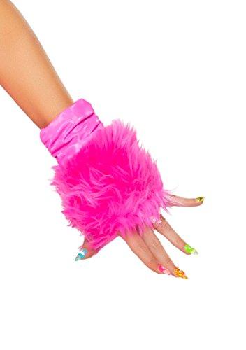 [J. Valentine Women's Hot Pink Unicorn Gloves, Pink, One Size] (J Valentine Unicorn Costume)