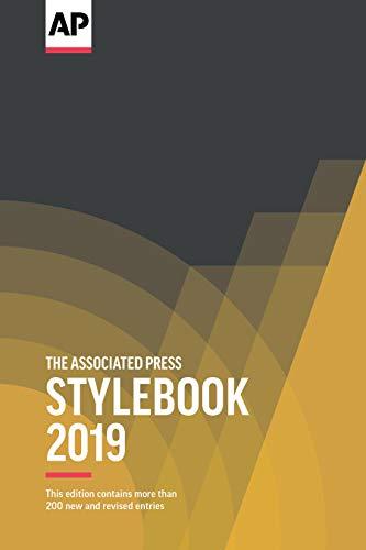 The Associated Press Stylebook 2019 (Kindle Press)