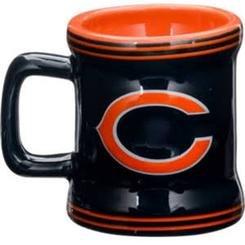 Officially Licensed NFL Chicago Bears Mini Mug Hanging Christmas -