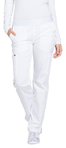 Women's Essence Mid-Rise Tapered Leg Pull-On Scrub Pants