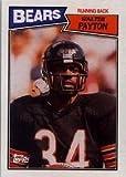 1987 Topps Walter Payton Football Card #46