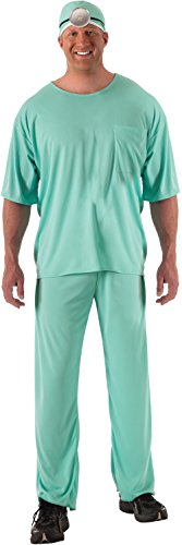 [Rubie's Costume Co. Men's Plus Doctor, As Shown, One Size] (Family Themed Fancy Dress Costumes)