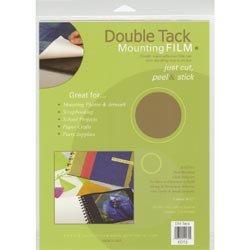 Bulk Buy: Grafix Films (2-Pack) Double Tack Mounting film 9in. x 12in. 3/Pkg (Grafix Double Tack)