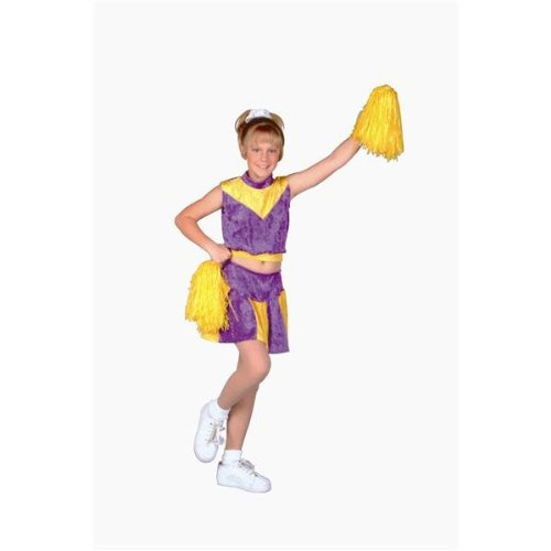 RG Costumes Cheerleader Dress, Velvet