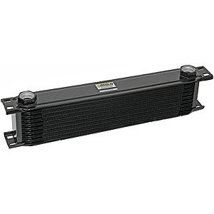 Earl's 21000AERL 10 Row Oil Cooler Core Black