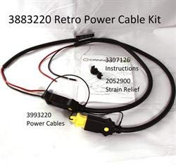CANNON 3883220 Retro Power Cable - Cannon Parts Downriggers