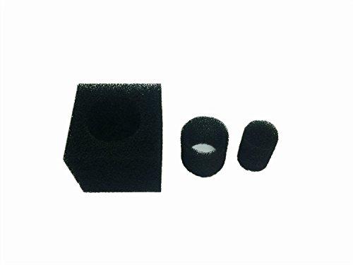 8 inch pack of 3 8 inch pack of 3 LTWHOME 8  Inch Coarse Pond Filter Foam Cube Block Pump Pre Filter Sponge(Pack of 3)