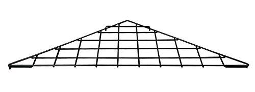Triangle Black Wire Grid Shelf - Set of 2 by SSW Basics LLC