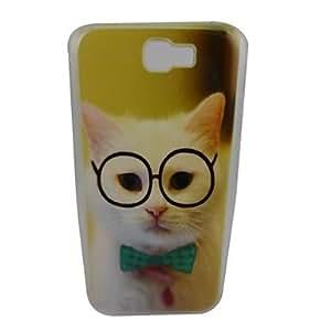 LZX Cute Kitten Pattern PC Back Case for Samsung Note 2 N7100