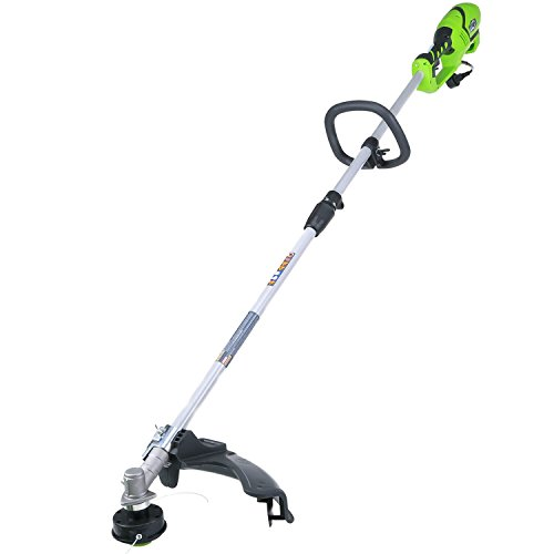 (Greenworks 18-Inch 10 Amp Corded String Trimmer (Attachment Capable) 21142)