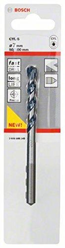 Silver Bosch 2608588149 CYL-5 Concrete Drill bit 7 mm