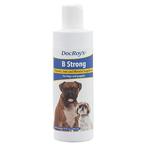 - Revival Animal Health Doc Roy's B Strong - 8 oz Vitamin and Mineral Support for Dogs and Puppies
