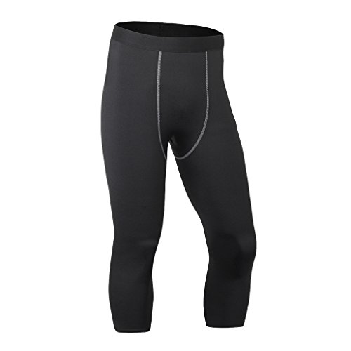 Maoko Men's Sports Compression Tights Pants - Perfect for GYM,Running,Training