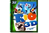 RIO 3D BLU RAY - 4 DISC COMBO PACK WITH ANGRY BIRDS EXCLUSIVE LEVELS