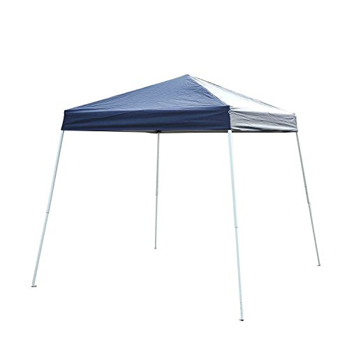Outsunny Slant Leg Easy Pop-Up Canopy Party Tent, 8 x 8-F...