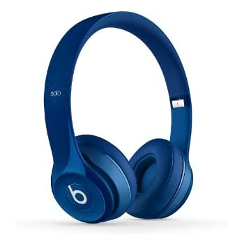 Beats Solo2 Wired On-Ear Headphone - Blue