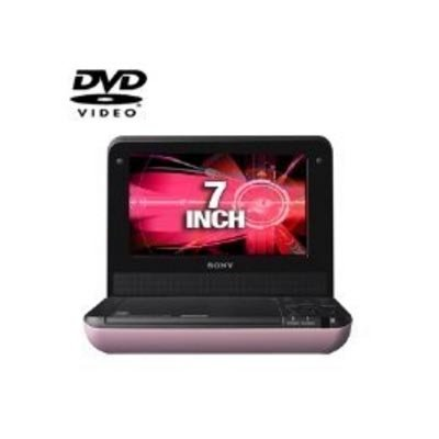 Sony DVP-FX750/P 7-Inch Portable DVD Player, Pink (Sony Pink Dvd Player)