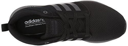 Adidas Neo Donna Cf Qt Racer Mid W Scarpe Da Corsa, Grigio Due / Grigio Tre / Cristallo Bianco Nero / Nero / Nero