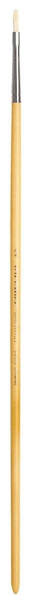da Vinci Hog Bristle Series 7400 Maestro Artist Paint Brush, Filbert Medium-Length Hand-Interlocked with Natural Polished Handle, Size 2 (7400-2)