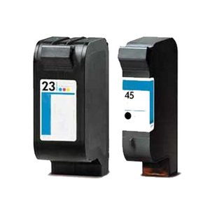 AIM Compatible Replacement - HP Compatible NO. 45/23 Inkjet Combo Pack (Black/Color) (C8790FN) - Generic