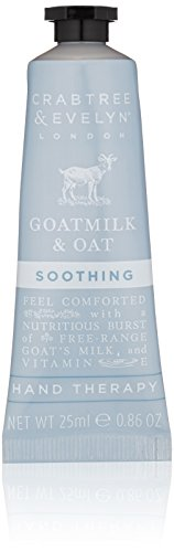 Crabtree & Evelyn Soothing Hand Cream Therapy, Goatmilk and Oat - 0.86 oz