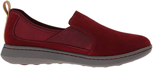 Synthetic 085 Burgundy Women's Jump Step Move Clarks Us Sneaker W nBCYw0RCqO