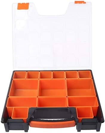 LKKPT Portable Carry Tool Storage Case Spanner Screw Parts Hardware Organizer Box New