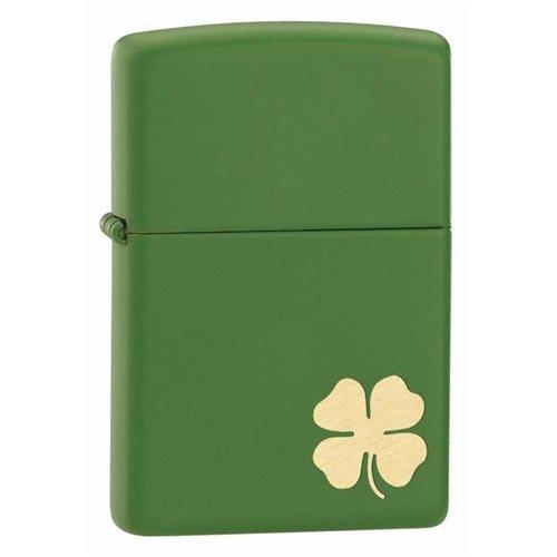 Zippo Shamrock Moss Green Matte Lighter (Set of 6)