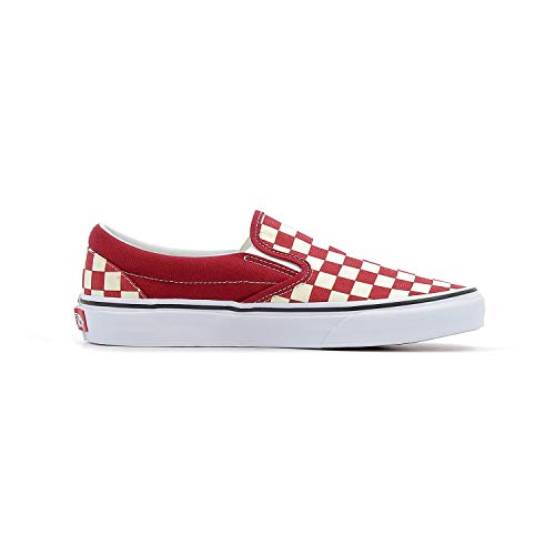 Classic Red Checkerboard Slip White on Vans Rumba dHwFWnXdq