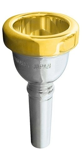Yamaha YAC SL51D-GPR Standard Series Mouthpiece for Euphonium - 51D, Gold Plated