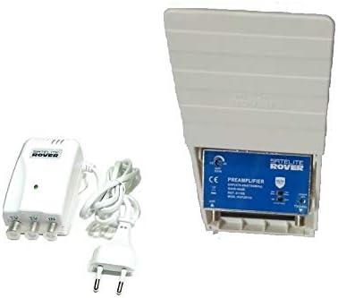 Amplificador de mastil TDT + alimentador Rover 40 dB LTE ...