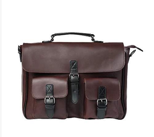 para Marrón de Bolsas Retros un Hombro Wen de Impermeables Moda Solo Bolso de ZHRUI Travel Work Mensajero q7awHF55