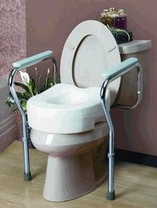 Toilet Safety Frame, 6 Per Case
