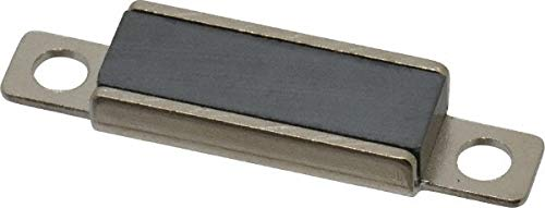 23/64'' Long x 1-27/64'' Wide x 11/64'' High, Ferrite & Steel Thin Magnetic Catch pack of 50