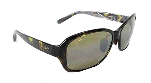 Maui Jim Koki Beach Polarized Sunglasses - Women's Olive Tortoise / HCL Bronze One - Jim Beach Maui Koki