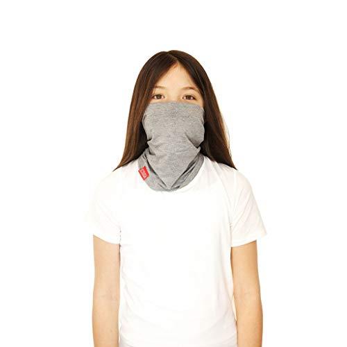 (Rylen Neck Warmer Pollution Protection Scarf Pollution Protection Filter Mask with Activated Carbon Filter - Kids Rylan)
