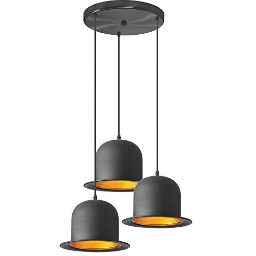Bowler Hat Light Pendant