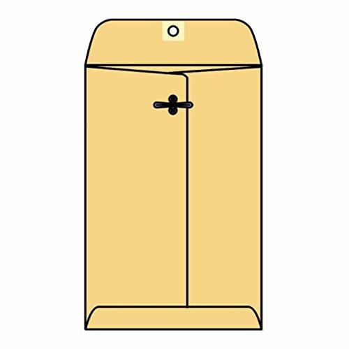 "#105 Open End Franklin Clasp Catalog Envelopes, 11-1/2"" x 14-1/2"" 32# Golden Kraft, Machine Finish (Box of 100)"