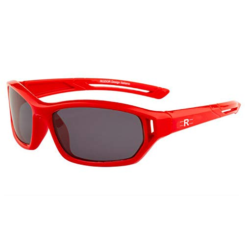 Buy Rozior Red Kids Polarized Sunglass with UV Protection Black Lens with  Red Frame, MODEL: RWPK121C5 at Amazon.in
