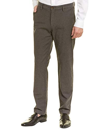 Brooks Brothers Mens Slim Fit Pant, 36/34, Grey