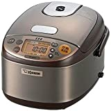 ZOJIRUSHI IH rice cooker(3Go cooked / 450 g) ''KIwamedaki'' NP-GH05-XT stainless Brown【Japan Domestic genuine products】
