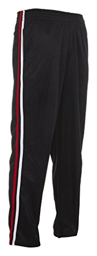 Vertical Sport Men's Mesh Track Pants – Comfortable Athletic Wear for Men – Navy, Large