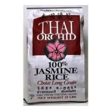 Rice Thai Orchid Jasmine 25 Pound -- 1 Each by Producers Rice