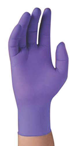 Halyard Health 50852 NITRILE Exam Glove, Non-Sterile, Cuffed and Walleted, 9.5