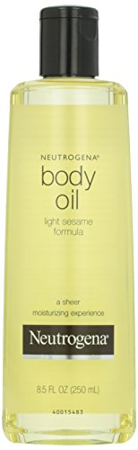 Neutrogena Body Oil, Light Sesame Formula, 8.5 Fl. Oz