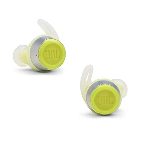 JBL REFLECT FLOW - True Wireless Earbuds, bluetooth sport headphones with microphone, Waterproof, up to 30 hours battery, charging case and quick charge, works with Android and Apple iOS (Green)