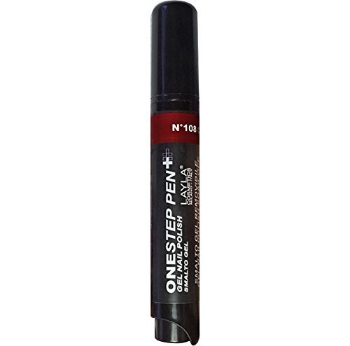 Layla 1617r25 – 108 Cosmetics One Step penna gel smalto, 1er Pack (1 X 0.005 L) Layla Cosmetics 1617R25-108